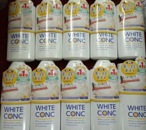 Đã ai dùng sữa tắm trắng da whiteconc chưa?