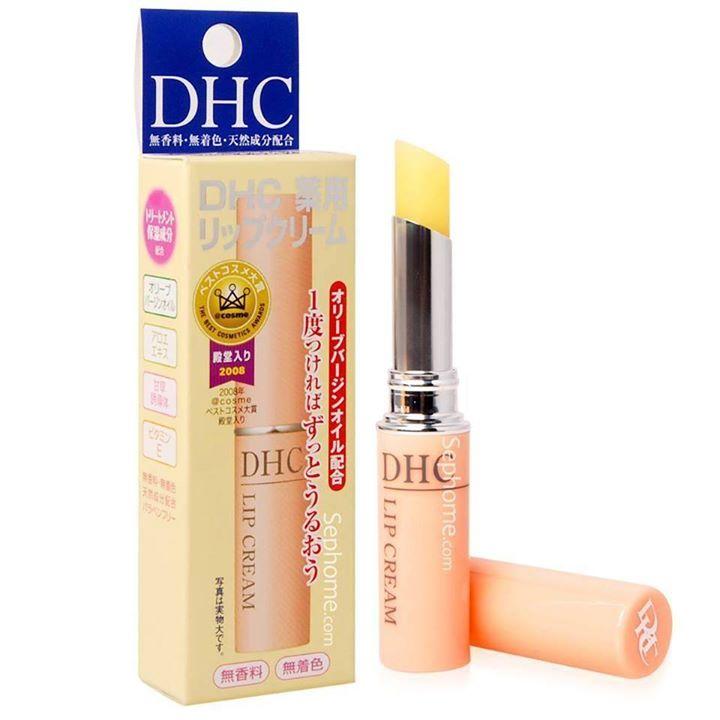 Đã ai dùng son dưỡng môi DHC chưa?