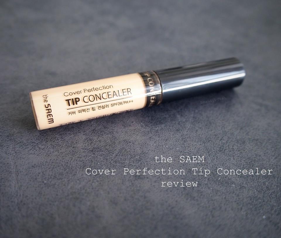 Đã có ai dùng che khuyết điểm Cover Pertection Tip Concealer của The Saem chưa ạ?