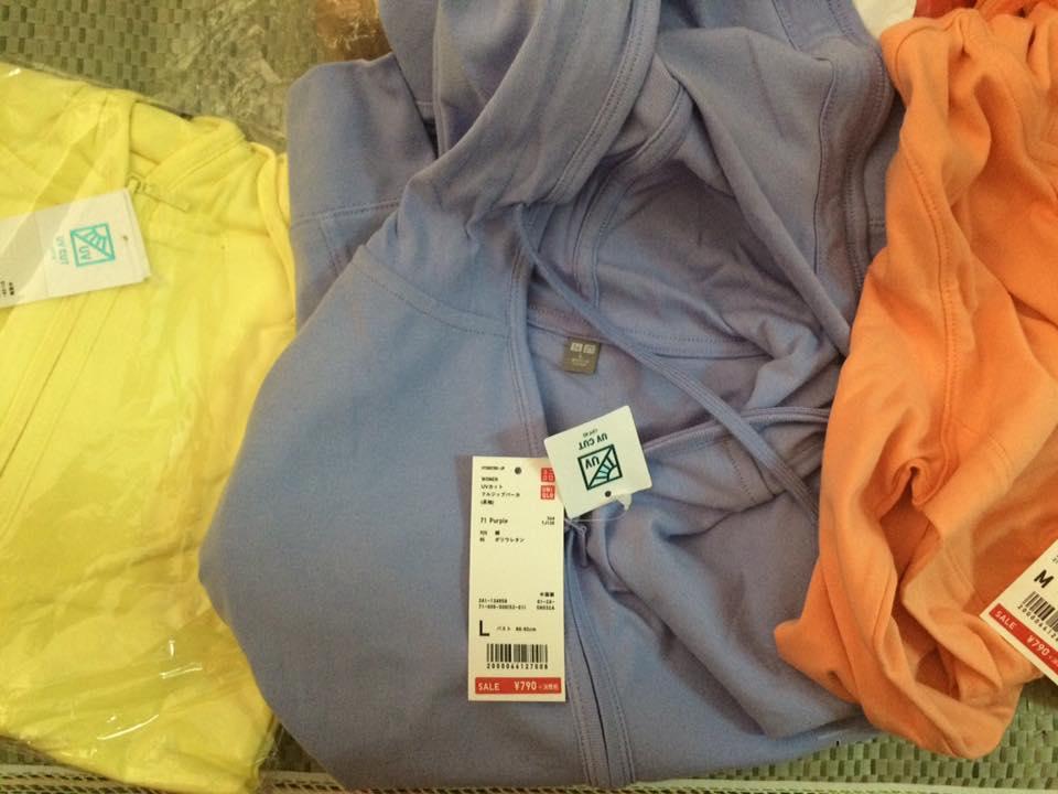 Xin tư vấn về áo chống nắng uniqlo?