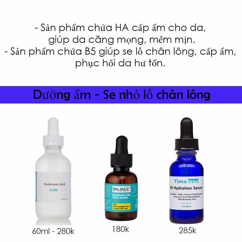 Xin tư vấn serum cho da hỗn hợp thiên dầu?